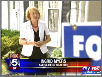 Ingrid Myers Northern Virginia Real Estate Market on Fox 5 News with Melanie Alnwick