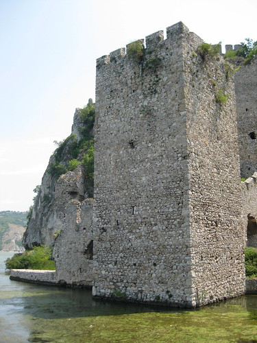 The Danube Comes Right Up to the Tower