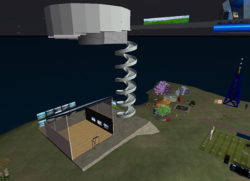 UK Art Department Gallery in Second Life