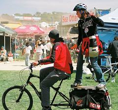 Clif Bar bike surfers