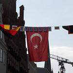 EM-Flaggenparade