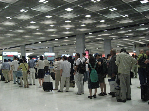 bangkok international suvarnabhumi airport immigration