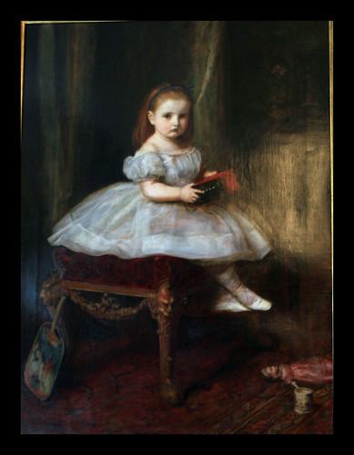 Miss Davidson, by Millais 1865