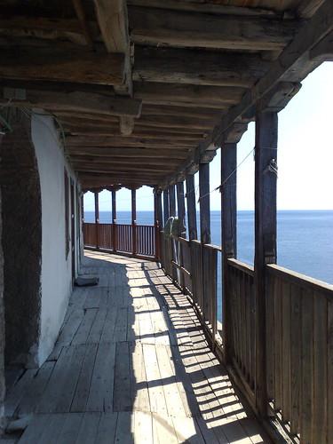 Balcony, Grigoriou Monastery