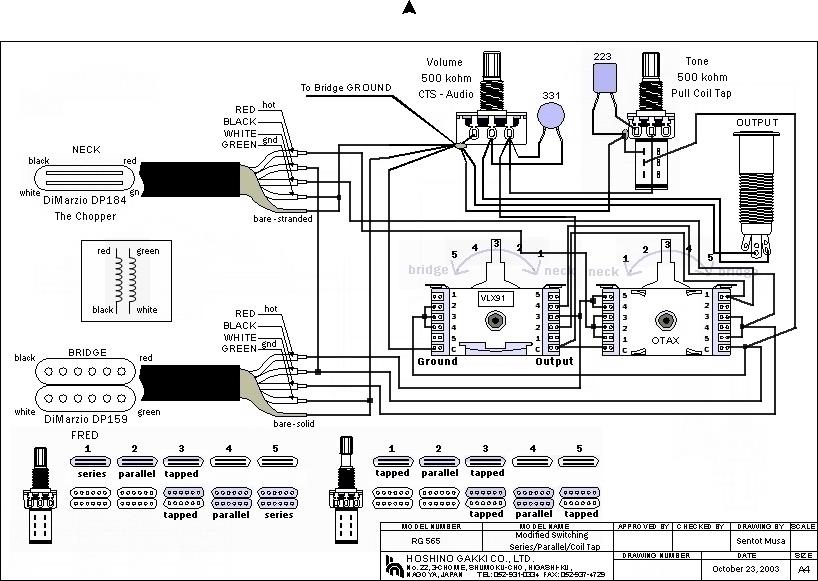 Dimarzio Evolution Ibanez Wiring Diagram : 40 Wiring