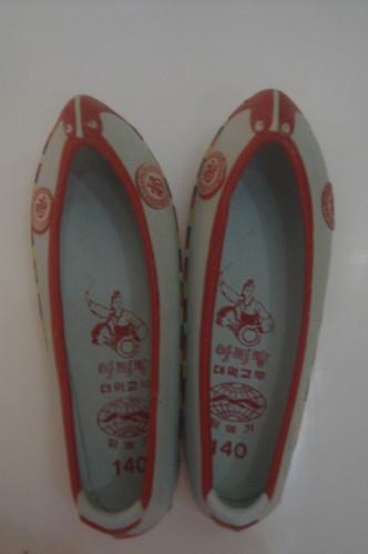 韓國小�傳統鞋 3