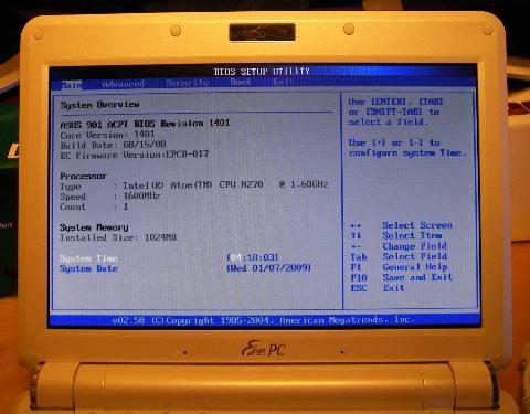 instalareeebuntuasuseeepc25