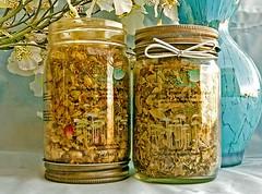 Botanical Elements: Energy Blend Herbal Bath Tea Bath Soak 12 ounces