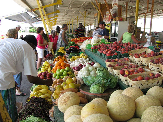 Farmers' Market, Jackson Mississippi