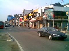 Sg Petani old shophouses