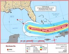 Hurricane Ike 5 p.m. 9.6.08