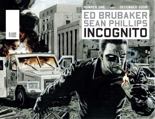 Incognito comic - Ed Brubaker and Sean Phillips