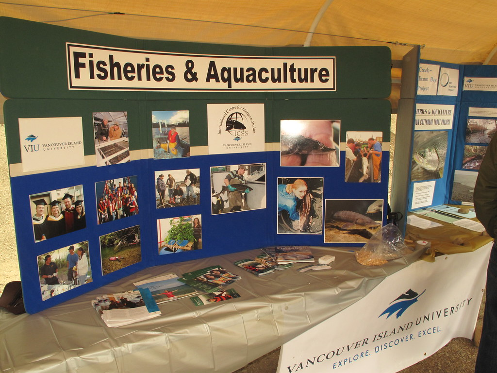 VIU Fish/Aqua Booth