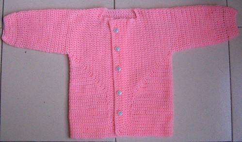 EZ's Baby Surprise Jacket modified for crochet  (1/2)