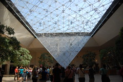 Inside the Musee du Louvre