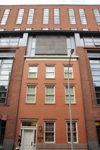 Poe\'s house at NYU Law