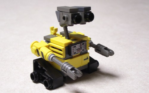 mini lego wall e instructions
