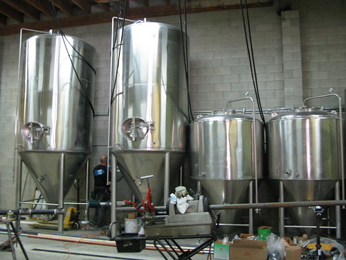 Third-hand brewing system originally from Flying Monkey Brewery in Olathe, Kansas.