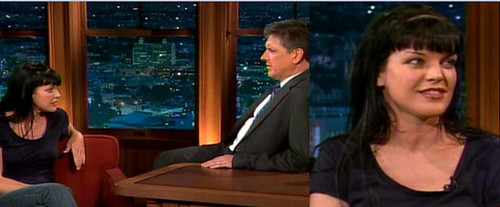 Pauley Perrette and Craig Ferguson