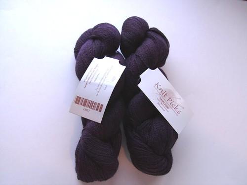 knitpicks shadow vineyard heather laceweight