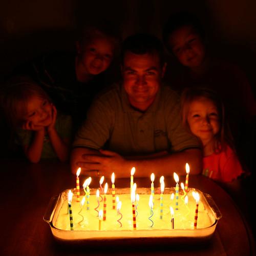 Happy Birthday Chaz Cake
