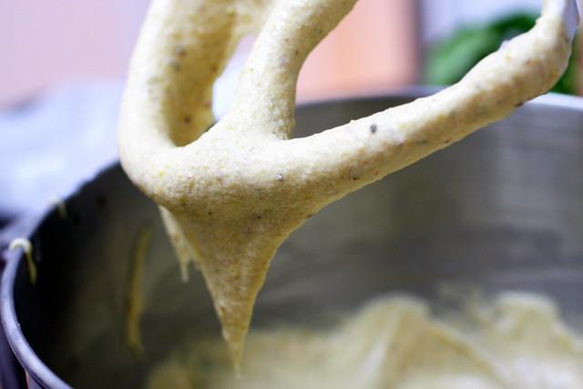 pistachio cake batter
