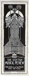 Charles Rennie Mackintosh. Poster, The Musical Review, 1896.