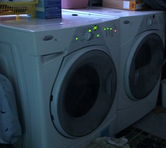Whirlpool duet front load washer & dyer