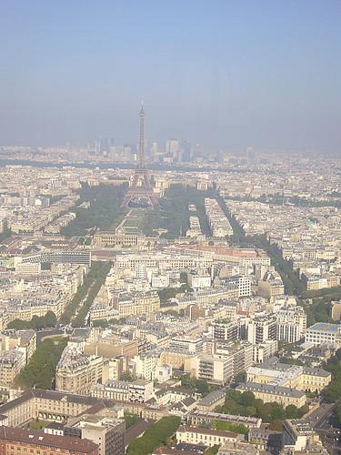 Paris - vista della torre Monparnasse