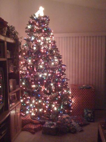 Christmas aglow