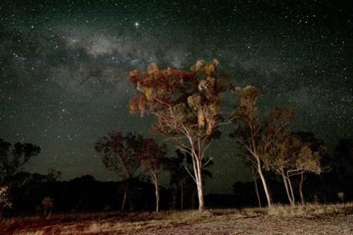 Back under the Australian starry nights