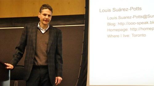 Louis Suarez-Potts @ UB