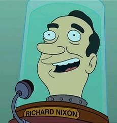 Nixon en Futurama
