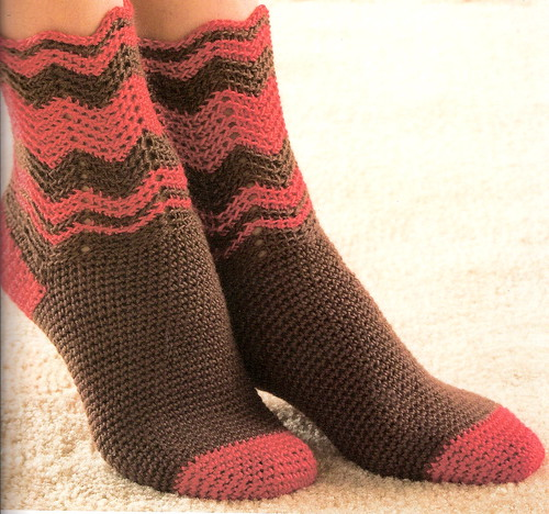 Crochet socks!  Yes, you CAN crochet socks.  Ive got 2 pair myself!  ;)