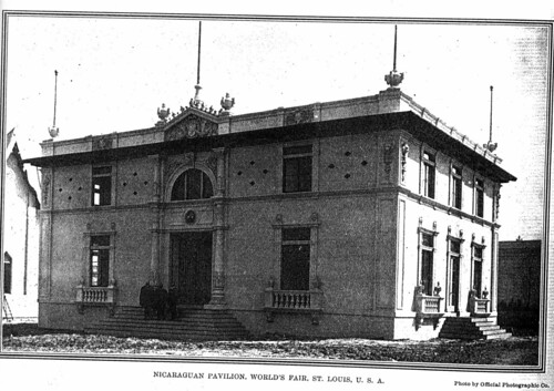 Nicaragua Pavilion nearing completion, May/June 1904
