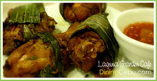 Filipino Restaurant in Cebu - Laguna Garden Cafe, Terraces Ayala Cebu