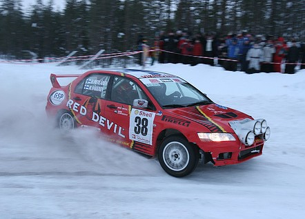 Hakkinen lapland rally by you.