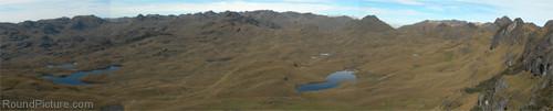 Ecuador - Parque Nacional Cajas - Panorama