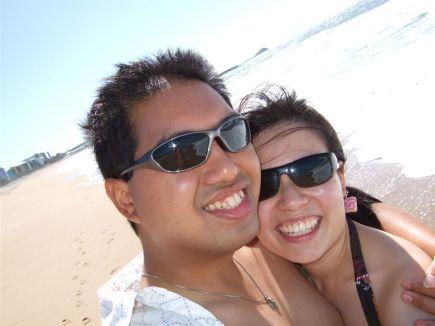 Beached happy