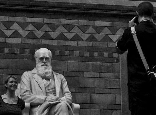 Charles Darwin kindly posing for a picture... by tranchis.