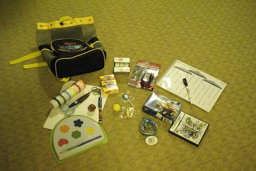 3 yr old survival kit