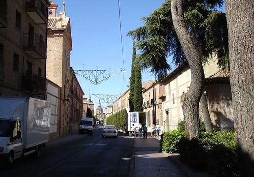 Calle Colegios desde la Puerta de Aguadores