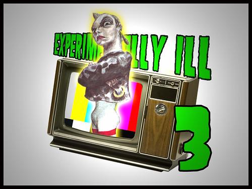 """Early """"Experimentally Ill 3"""" Promo Art"""