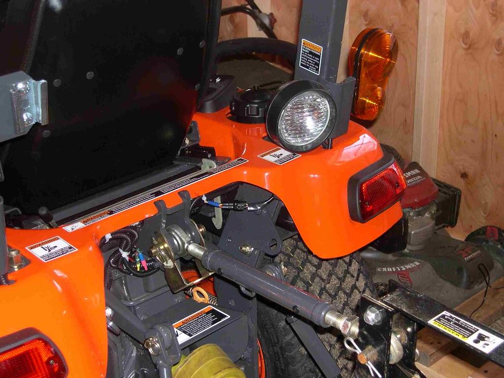 Wiring Rear Work Lights