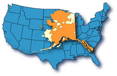 alaska map overlay