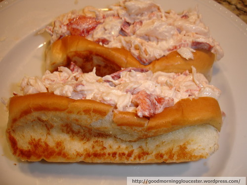 The Mrs' World's Greatest Lobster Roll