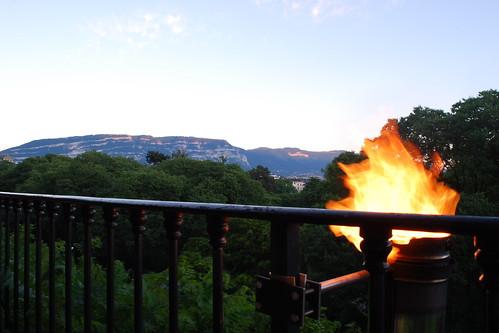 Salève on Fire