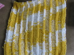 Yellow Dishcloth