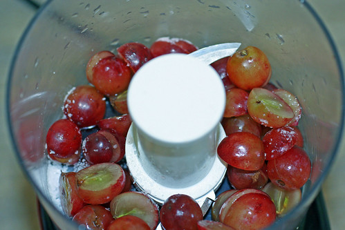 Grapes and salt