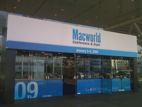 Moscone North Macworld signage